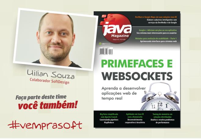 Artigo na Java Magazine