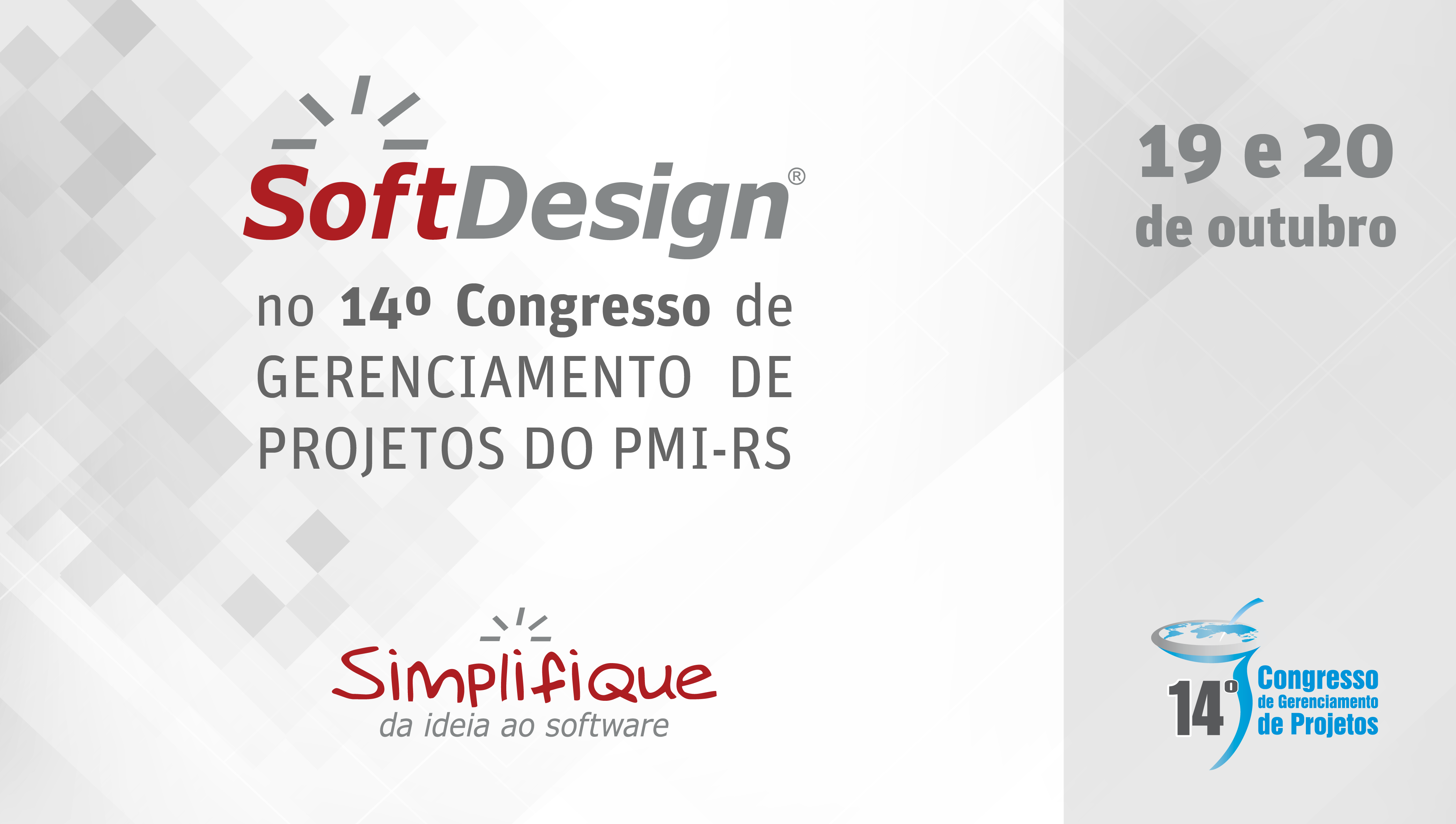 SoftDesign no 14º Congresso de Gerenciamento de Projetos do PMI-RS
