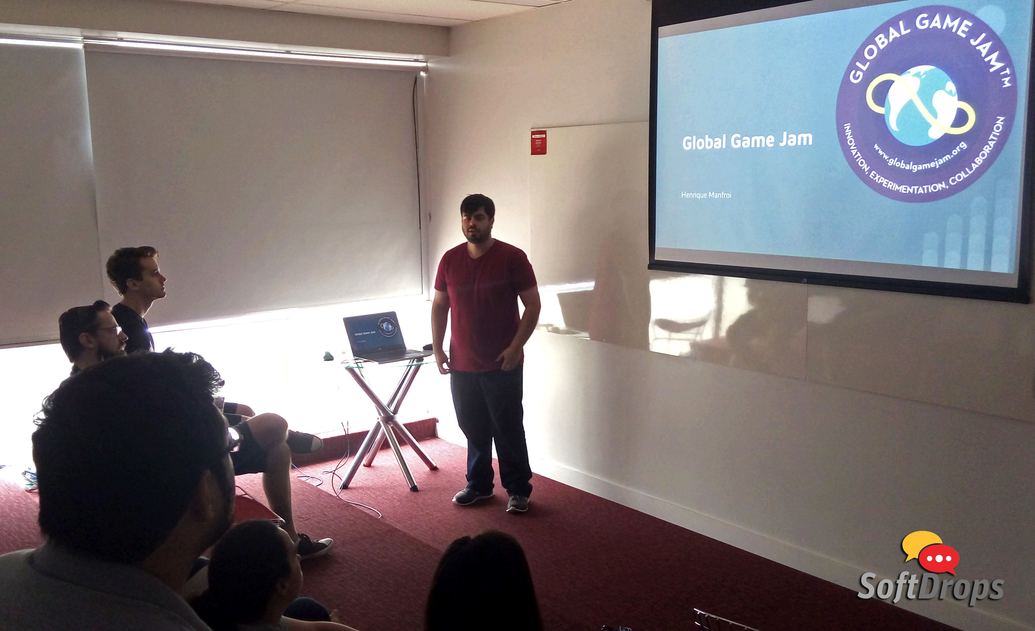 SoftDrops sobre o evento Global Game Jam (GGJ)