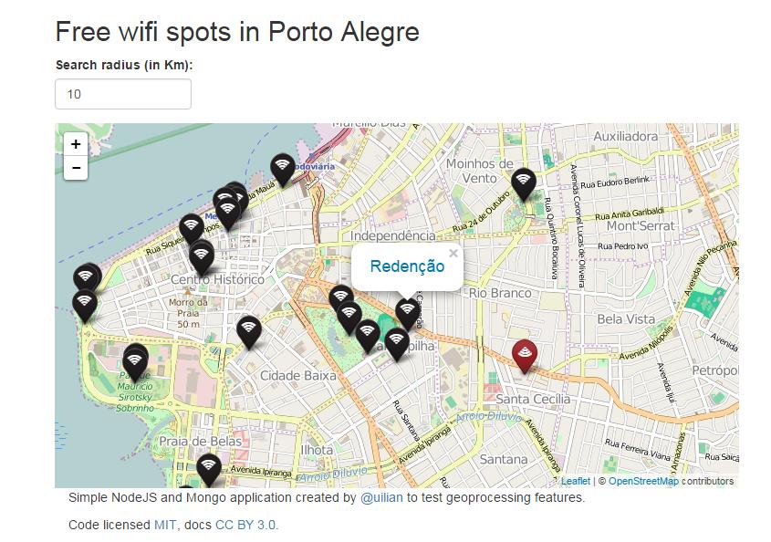 Free Wi-Fi em Porto Alegre