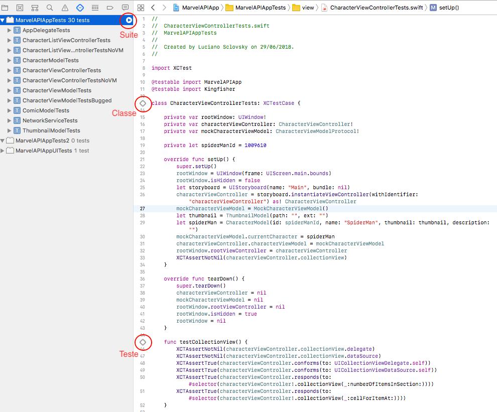 Swift: Testes Unitários com MVVM