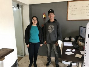 Aline e Lucas, colaboradores da Agência Formô.